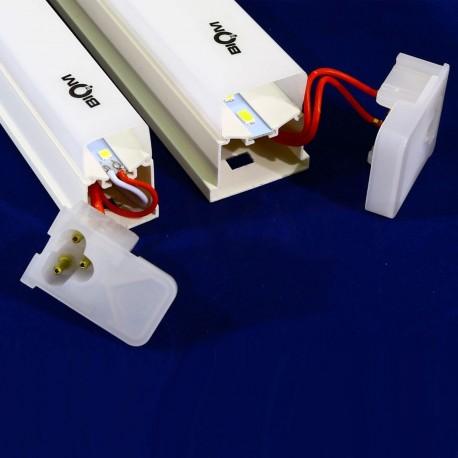 Світильник світлодіодний Biom T5-1200-22W-PL 4500K AC220 пластик - в Україні