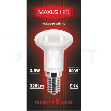 Светодиодная лампа Maxus 1-LED-360 R39 3.5W 4100K 220V E14 AP - недорого