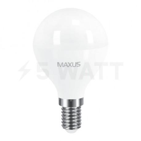 LED лампа MAXUS G45 F 8W 3000K 220V E14 (1-LED-5415) - недорого