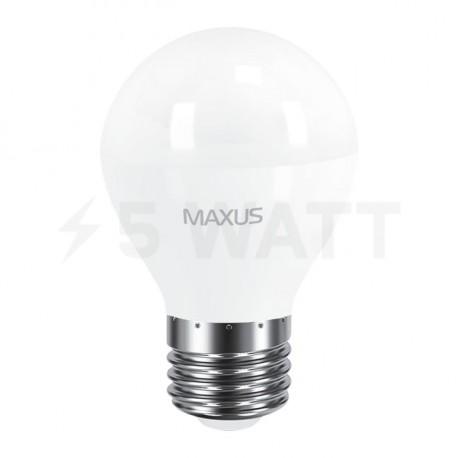 LED лампа MAXUS G45 F 8W 3000K 220V E27 (1-LED-5413) - недорого