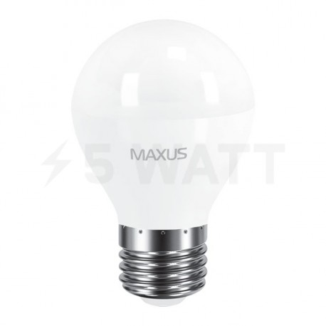 LED лампа MAXUS G45 F 8W 4100K 220V E27 (1-LED-5414) - недорого