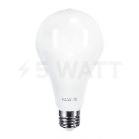 LED лампа MAXUS A80 20W 4100K 220V E27 (1-LED-5610) - недорого