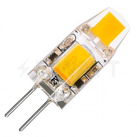 Світлодіодна лампа Biom G4 2W 0705 3000K AC/DC12 - придбати