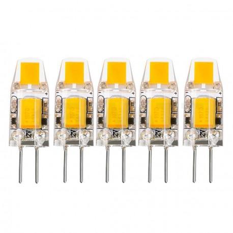 Світлодіодна лампа Biom G4 2W 0705 3000K AC/DC12 - недорого