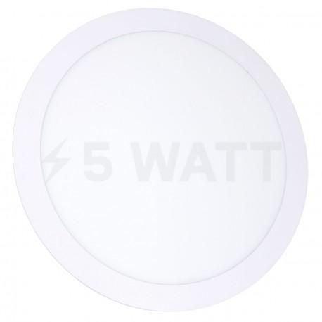 Светильник светодиодный Biom PL-R24 W 24Вт круглый белый - купить
