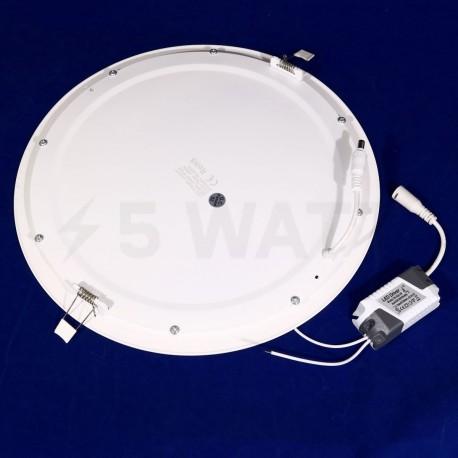 Светильник светодиодный Biom PL-R24 W 24Вт круглый белый - в Украине