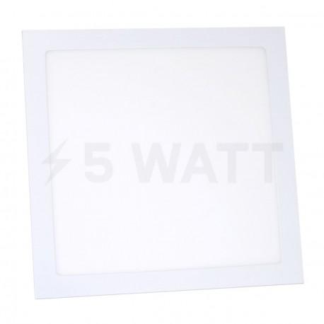 Светильник светодиодный Biom PL-S24 W 24Вт квадратный белый - купить