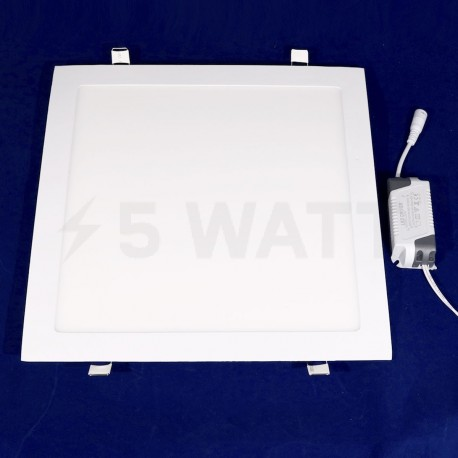 Светильник светодиодный Biom PL-S24 W 24Вт квадратный белый - недорого