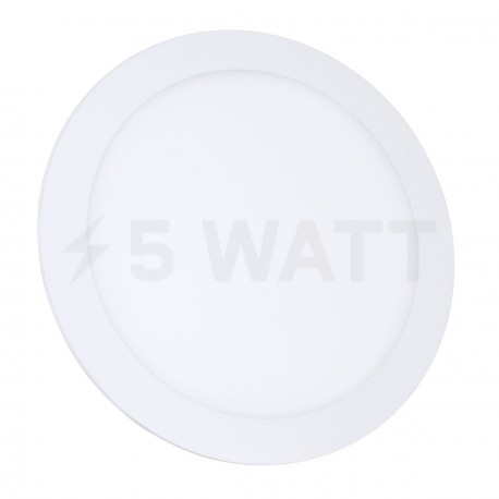 Светильник светодиодный Biom PL-R18 WW 18Вт круглый теплый белый - купить
