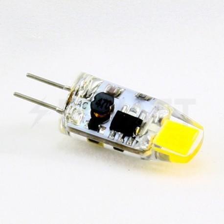 Світлодіодна лампа Biom G4 2W 0705 3000K AC/DC12 - в Україні