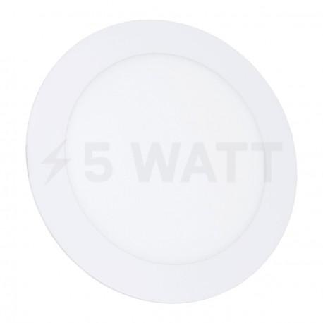 Светильник светодиодный Biom PL-R12 W 12Вт круглый белый - купить