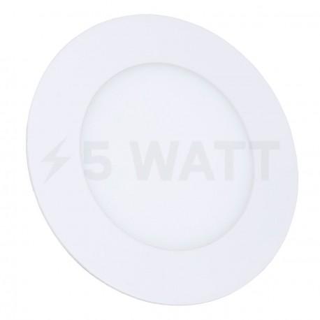 Светильник светодиодный Biom PL-R6 W 6Вт круглый белый - купить