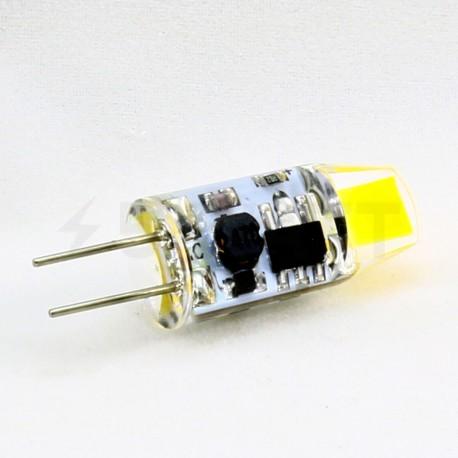 Світлодіодна лампа Biom G4 2W 0705 3000K AC/DC12 - в інтернет-магазині