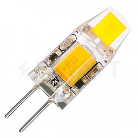 Светодиодная лампа Biom G4 2W 0705 4500K AC/DC12 - купить