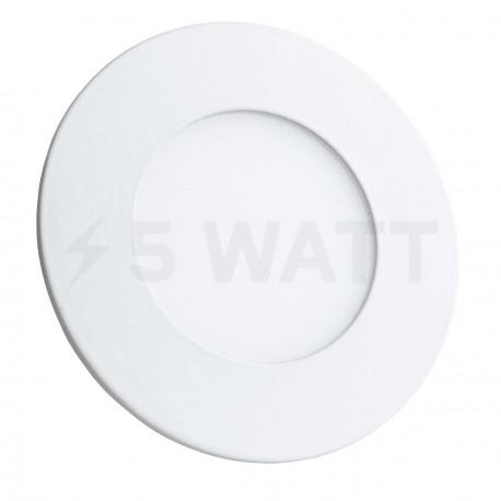 Светильник светодиодный Biom PL-R3 W 3Вт круглый белый - купить