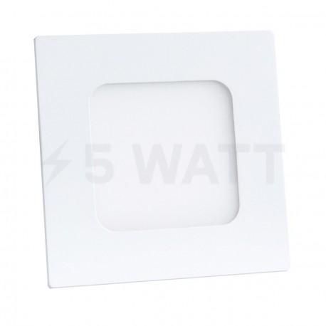 Світильник світлодіодний Biom PL-S3 W 3Вт квадратний білий - придбати
