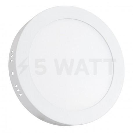 Світильник світлодіодний Biom W-R13 W 12Вт накладий круглий білий