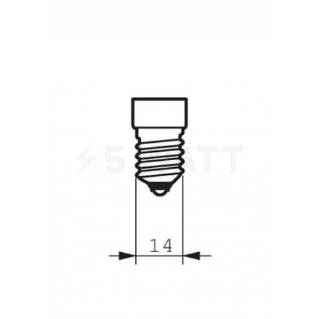 LED лампа PHILIPS CorePro LEDcandle ND B35 5.5-40W E14 2700K (929001157702) - недорого