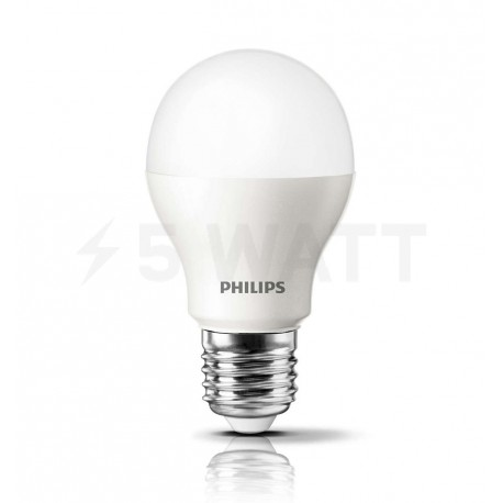 LED лампа PHILIPS LEDBulb A55 4-40W E27 3000K 230V (929000248557) - недорого