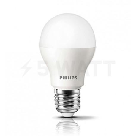 LED лампа PHILIPS LEDBulb A55 7,5-60W E27 3000K 230V (929000248867) - недорого