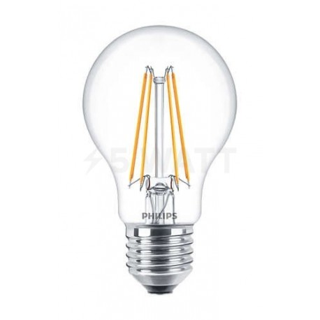 LED лампа PHILIPS LEDClassic A60 6-70W E27 2700K CL ND Filament(929001237208) - недорого