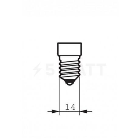LED лампа PHILIPS Master LEDcandle DT B38 6-40W E14 2700K CL AP (929001140408) - в Украине