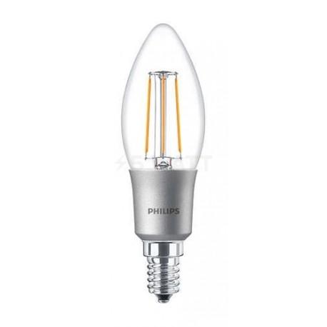LED лампа PHILIPS LEDClassic B35 4.5-50W E14 2700K CL D Filament(929001227208) - придбати