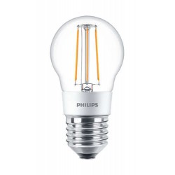 LED лампа PHILIPS LEDClassic P45 4.5-50W E27 2700K CL D Filament(929001227608)
