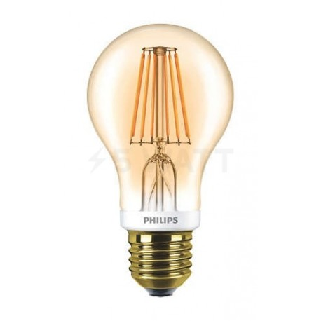 LED лампа PHILIPS LEDClassic A60 7.5-60W E27 2700K Dim Filament(929001228108) - купить