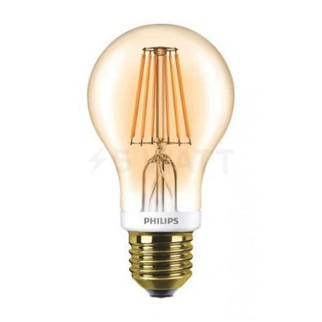 LED лампа PHILIPS LEDClassic A60 7.5-60W E27 2700K Dim Filament(929001228108)