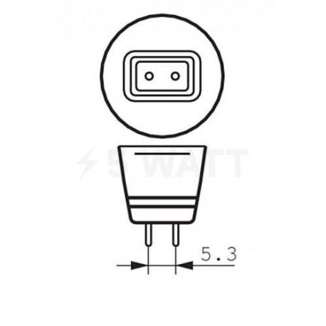 LED лампа PHILIPS Essential LED MR16 5,5-50W GU5.3 6500K 12V 24D (929001147207) - в інтернет-магазині