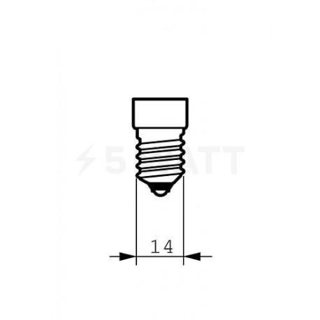 LED лампа PHILIPS Master LEDcandle D BA39 6-40W E14 2700K (929000271902) - в Україні