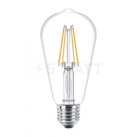 LED лампа PHILIPS LED Fila ND ST64 4.3-50W E27 2700K (929001190408)