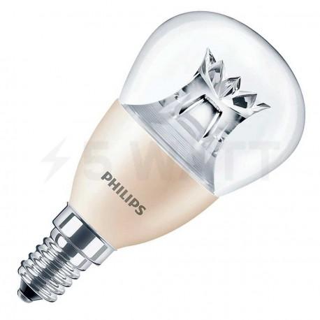 LED лампа PHILIPS Master LEDlustre DT P48 6.2-40W E14 2700K (929000272002A) - купить