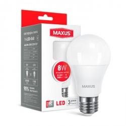 LED лампа MAXUS A60 8W 4100K E27 (1-LED-560)