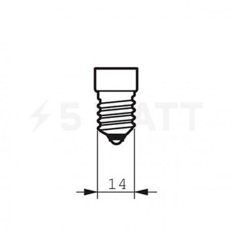 LED лампа PHILIPS CorePro LEDluster ND P48 6-40W E14 2700K (929000273302) - в Украине