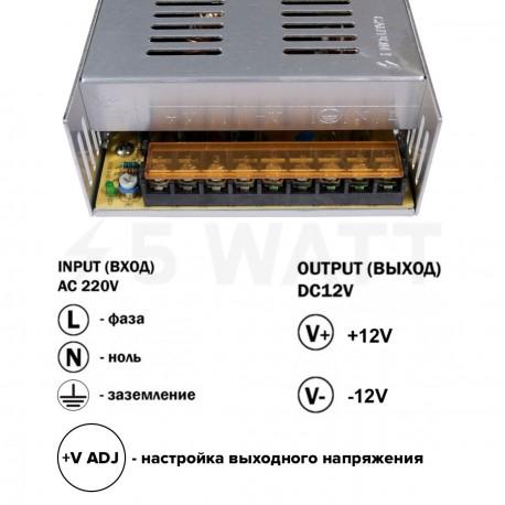 Блок питания OEM DC12 360W 30А TR-360-12 - в интернет-магазине