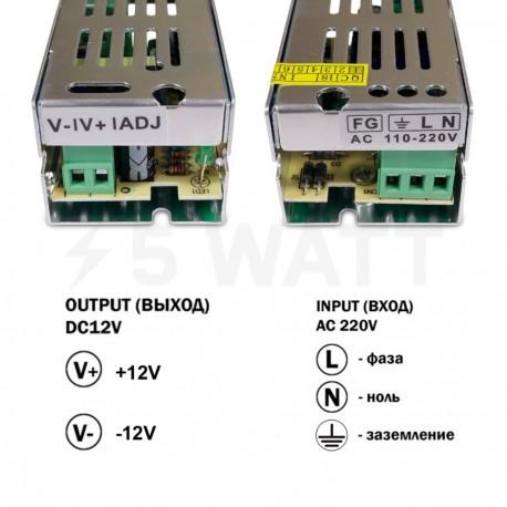 Блок живлення OEM DC12 15W 1,25А TR15-12 - в Україні