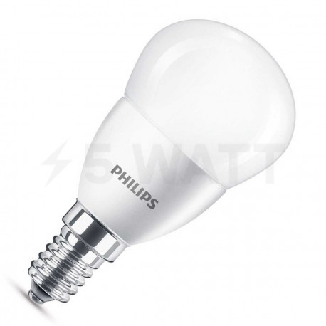 LED лампа PHILIPS CorePro LEDluster ND P45 5.5-40W E14 2700K (929001157802)