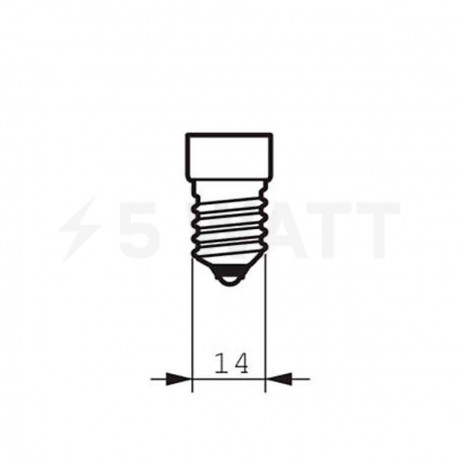 LED лампа PHILIPS CorePro LEDcandle ND B39 6-40W E14 2700K (929000273202А) - недорого