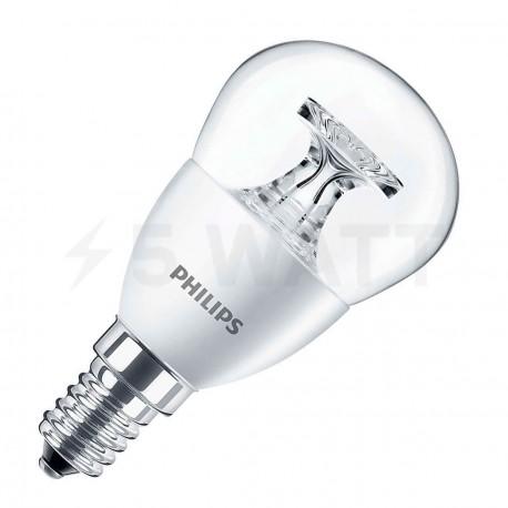 LED лампа PHILIPS CorePro LEDluster ND P45 5.5-40W E14 4000K (929001206102) - купить