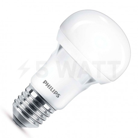 LED лампа PHILIPS Essential LEDBulb A55 7-60W E27 6500K 230V (929001204787)