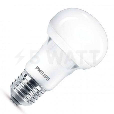 LED лампа PHILIPS Essential LEDbulb A60 5W E27 6500K 230V (929001204187)
