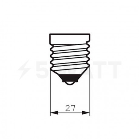 LED лампа PHILIPS Essential LEDbulb A60 7-60W E27 3000K 230V (929001204487) - недорого