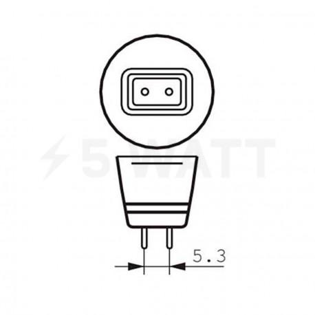 LED лампа PHILIPS Essential LED MR16 4.2-35W GU5.3 6500K 12V 24D (929000250608) - в интернет-магазине