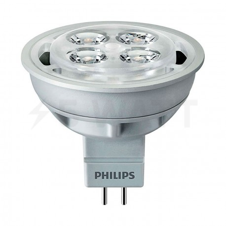 LED лампа PHILIPS Essential LED MR16 4.2-35W G53 6500K 12V 24D (929000250608) - придбати