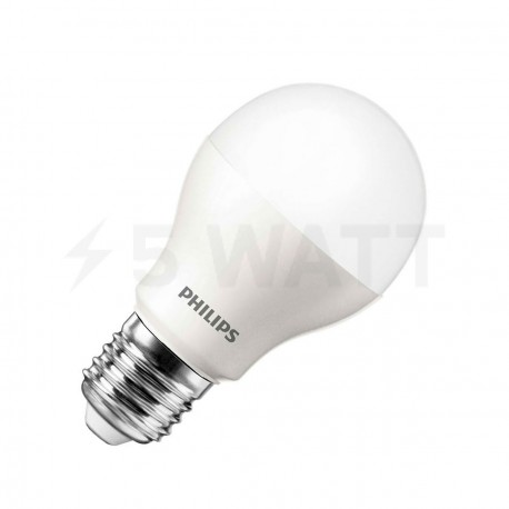 LED лампа PHILIPS LEDBulb A55 4-40W E27 3000K 230V (929000248557) - придбати