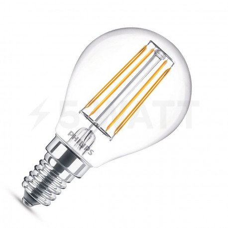 LED лампа PHILIPS LEDClassic P45 2.3-25W E14 2700K ND 1CT Filament(929001180207) - придбати