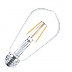 LED лампа PHILIPS LEDClassic ST64 4-50W E27 2700K WW Filament(929001237308)
