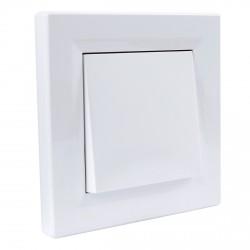 """Выключатель 1-кл. внутр. Schneider""""ASFORA"""" IP44 белый (EPH0100221)"""